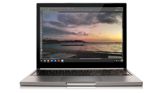 photoshop para chrome android informa