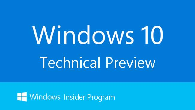 Windows Technical Preview de Windows 10 android informa