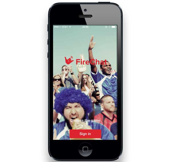 firechat android informa