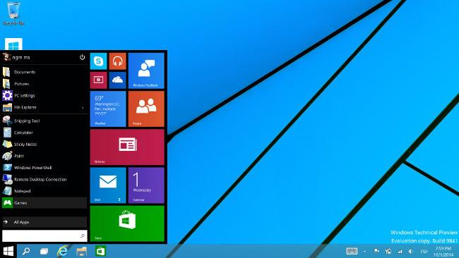 windows-10-instalado android informa