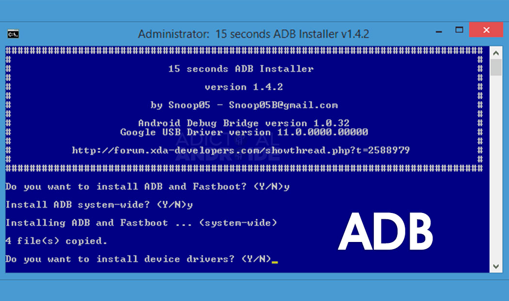 Cómo Instalar ADB en Windows