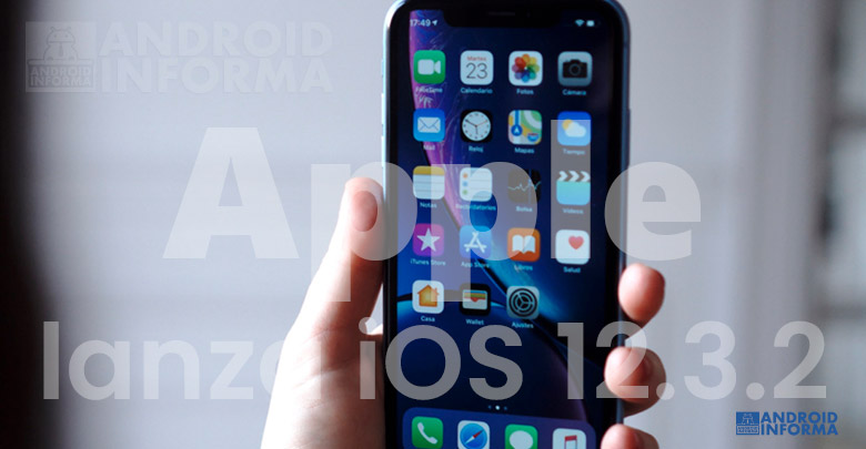 Apple lanza iOS 12.3.2 para el iPhone 8 Plus